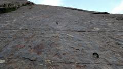 Rock Climbing Photo: Nary a hold?