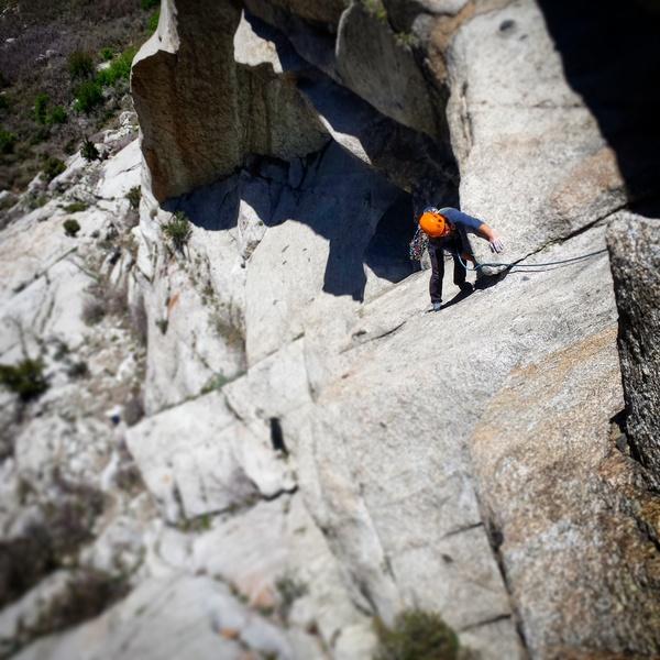 Rock Climbing Photo: Amazing pitch.