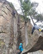 Rock Climbing Photo: Le monstre - Belayed by Marie-Pier Fortier