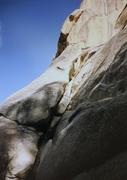 Rock Climbing Photo: First pitch. First ascent photo.