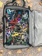 Rock Climbing Photo: carry-on luggage