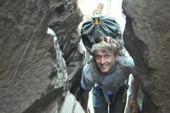 Rock Climbing Photo: Walking through tunnels in WA