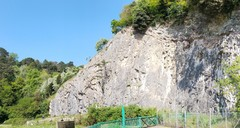 Rock Climbing Photo: New Quarry catching all the spring sunshine