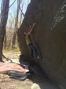 Rock Climbing Photo: High jump