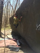 Rock Climbing Photo: High jump