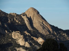 Rock Climbing Photo: Steinfell's Dome and Jackson's Thumb from the edge...