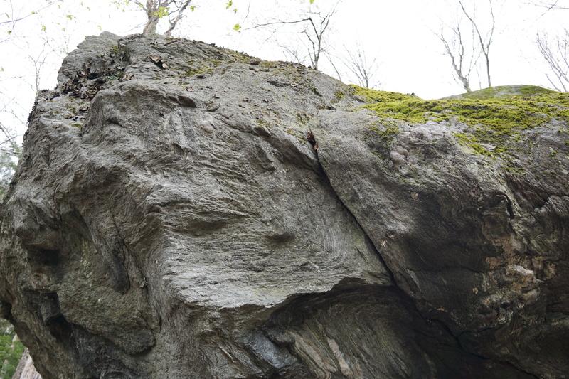 Rock Climbing Photo: Roof of Rumors Finish