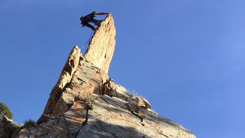 Rock Climbing Photo: Crispy!