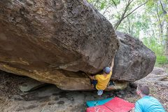 Rock Climbing Photo: Matt's Crag V3+ or V4