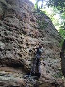 Rock Climbing Photo: Pumpy