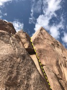 Rock Climbing Photo: the upper dihdral