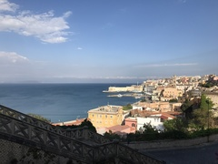 Rock Climbing Photo: The port of Gaeta from up on the hill.