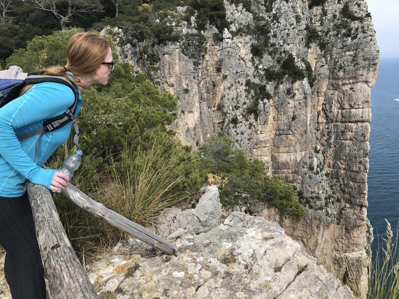 Rock Climbing Photo: Spiderman Wall From afar in Gaeta.