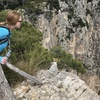 Spiderman Wall From afar in Gaeta.