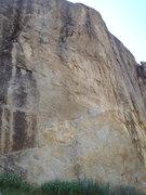 Rock Climbing Photo: Pendulum route