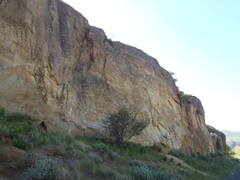 Rock Climbing Photo: Right side of Granite Point.