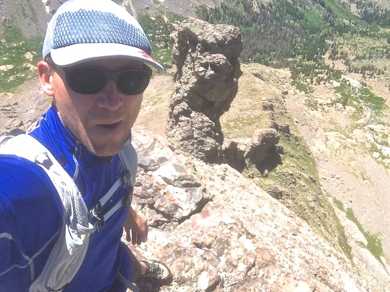 Rock Climbing Photo: Soloing The Prow on the way to Challenger and KC.