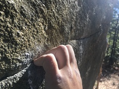 Rock Climbing Photo: Small!