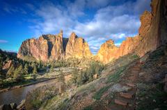 Rock Climbing Photo: Beautiful Smith sunrise
