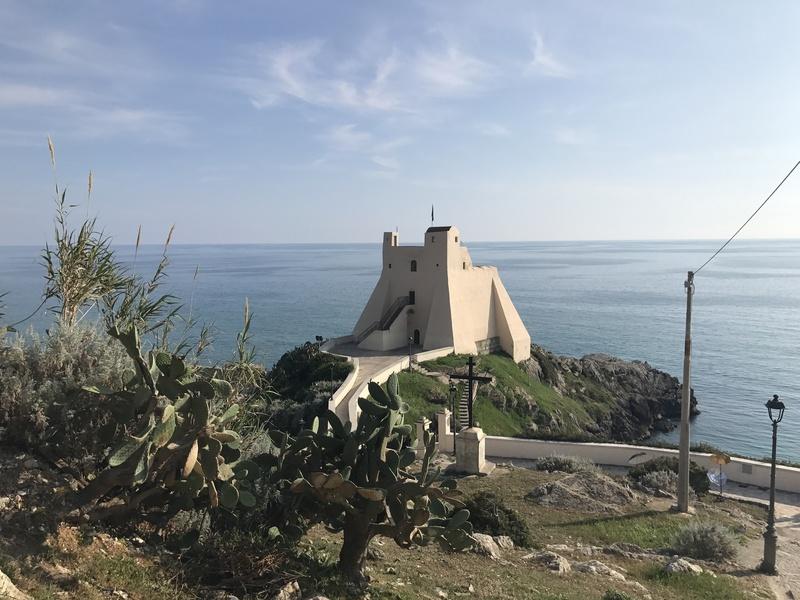 Rock Climbing Photo: The Fort of sperlonga