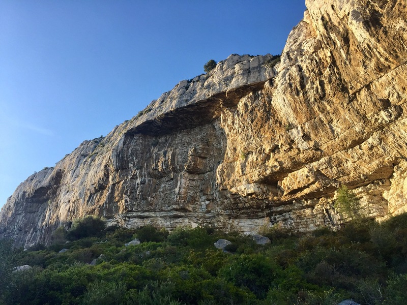 Rock Climbing Photo: Another view from the right side of Paroi des Toit...