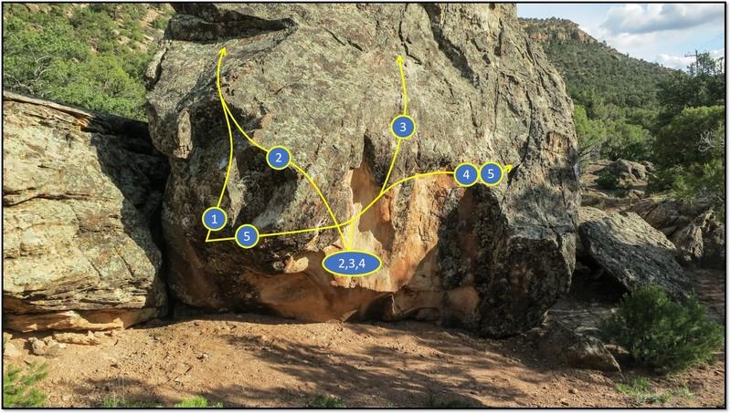 Rock Climbing Photo: 1. Kava Root.