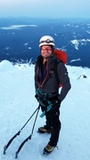 Rock Climbing Photo: Another summit shot of myself.