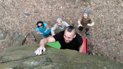 Rock Climbing Photo: jamal hitting the crux move on vice lane