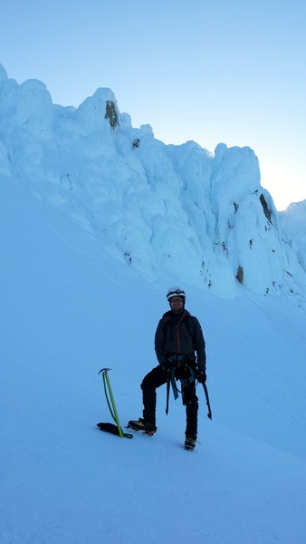 Myself with the DKH behind...That's where I went up.