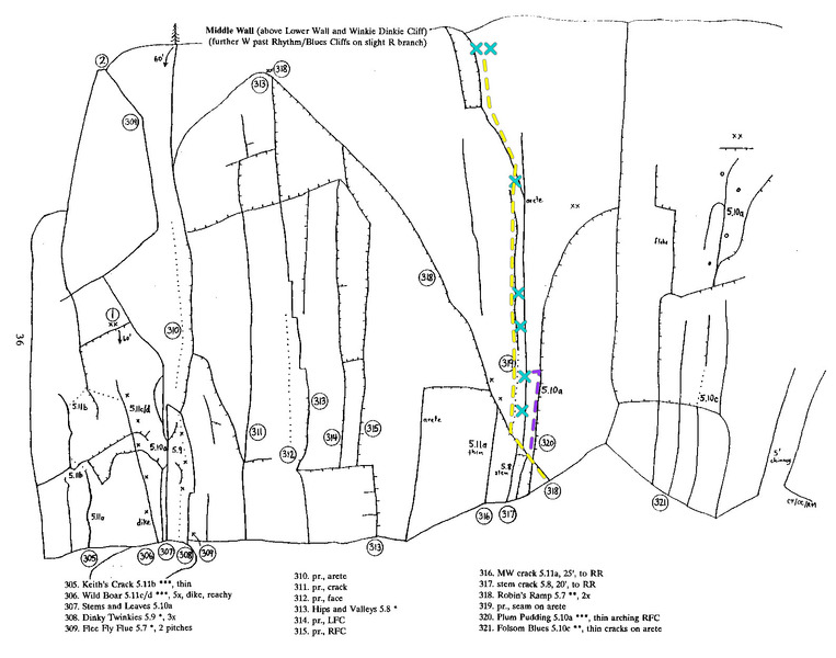 Beta on Seams Alright (Route #319 from the 1993 guide)