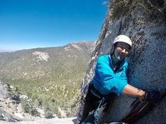 Rock Climbing Photo: Whodunit, third pitch