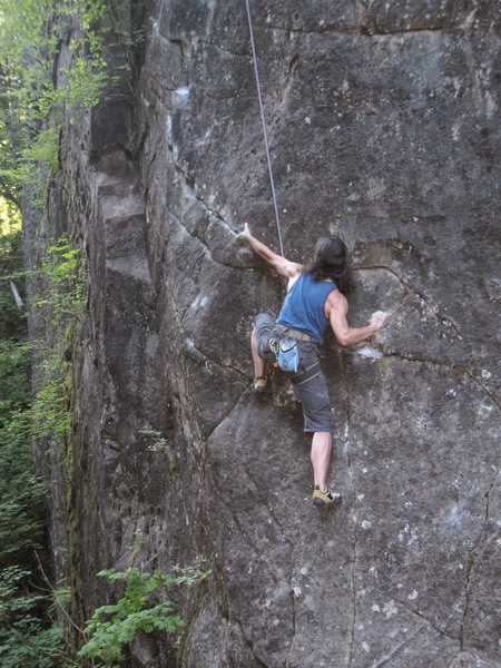 Rock Climbing Photo: Nicola Masciandaro on Agent Orange (11+).