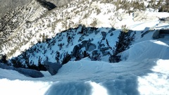 Rock Climbing Photo: The top out of Snow Creek?