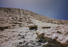 Rock Climbing Photo: Horns just right of the easiest way up on the top ...