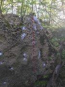 Rock Climbing Photo: Sit Down Start
