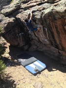 Rock Climbing Photo: Batman