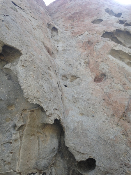 Rock Climbing Photo: View from the start