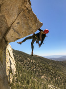 Rock Climbing Photo: everyone has their version of true horn photo. her...