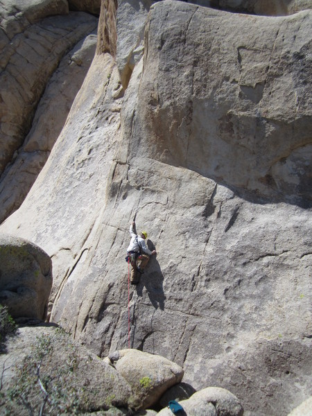 Rock Climbing Photo: Me on Johnny Went Home.