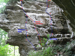 Rock Climbing Photo: Red Ryder