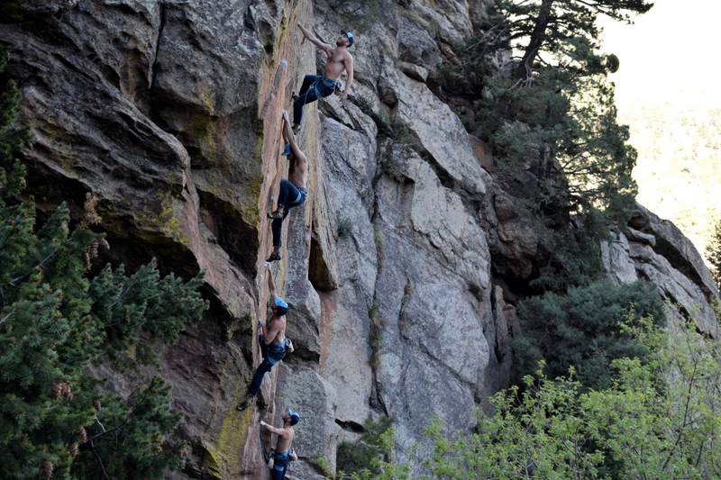 "Rock Climbing Photo: Andrew Smiser on the co-FA of ""Last of a Dyin..."