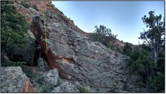Rock Climbing Photo: San Te.
