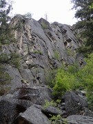 Rock Climbing Photo: Main Area from approach trail