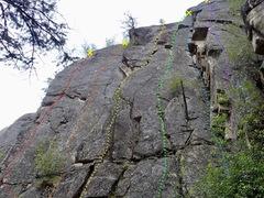 Rock Climbing Photo: Main area right side topo