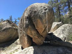 Rock Climbing Photo: O Boulder