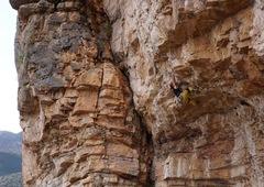 Rock Climbing Photo: Heartbreaker move
