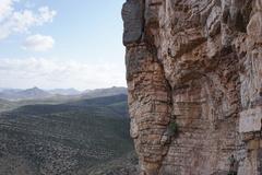 Rock Climbing Photo: Whole line.