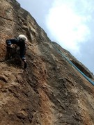 Rock Climbing Photo: Laps on New Horizons II after a lackluster lead