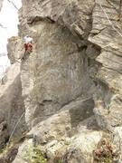 Rock Climbing Photo: Erik Ludwig on Cracked Up.