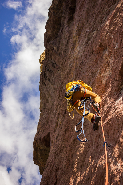 Rock Climbing Photo: I expect the aid ladder is much more fun with aide...